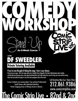 Stand Up: a comedy workshop by Comic Strip Live.